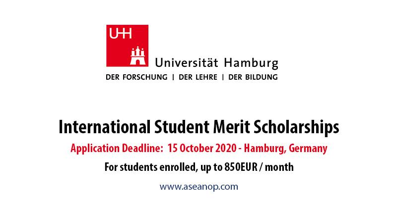 International Student Merit Scholarships at the University of Hamburg, Germany