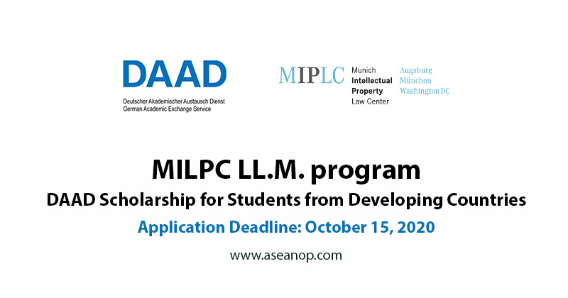 DAAD MILPC LLM program scholarship