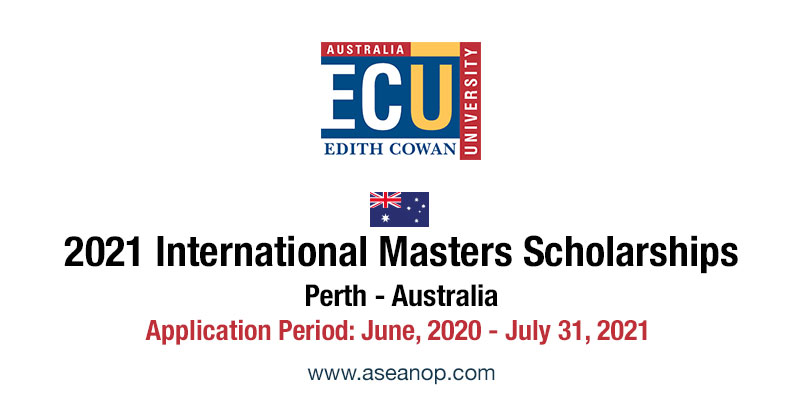 ECU International Master Scholarships 2021, Perth ...
