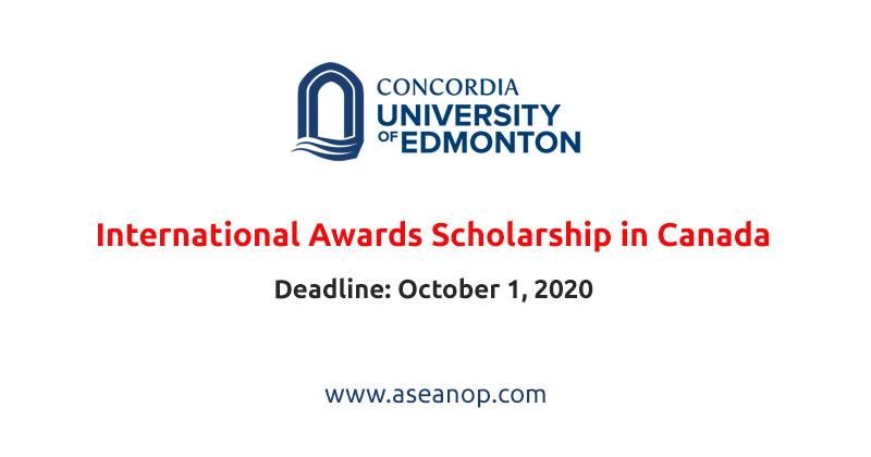 GSA International Awards at Concordia University of Edmonton in Canada