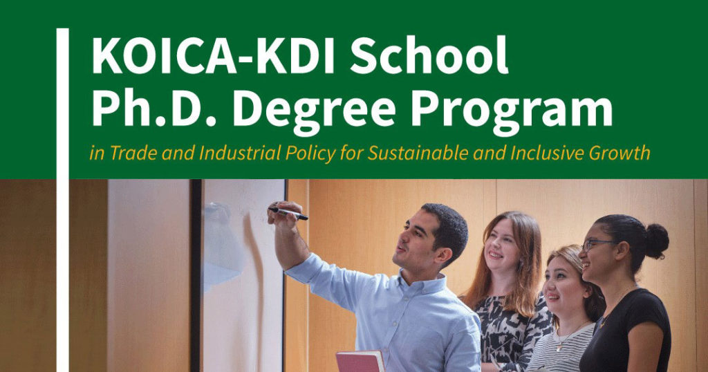 KOICA-KDIS Ph.D. Degree Scholarship Program in South Korea
