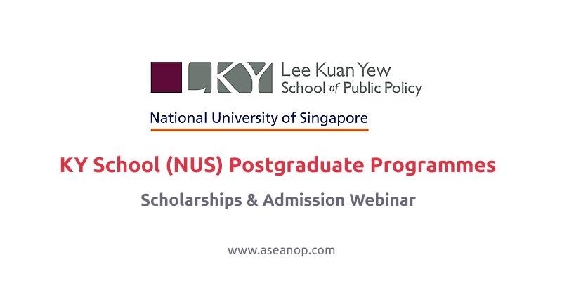 LKY School (NUS) Postgraduate Programmes Admissions & Scholarships