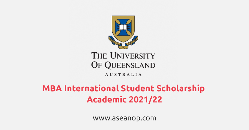 University of Queensland MBA International Student ...