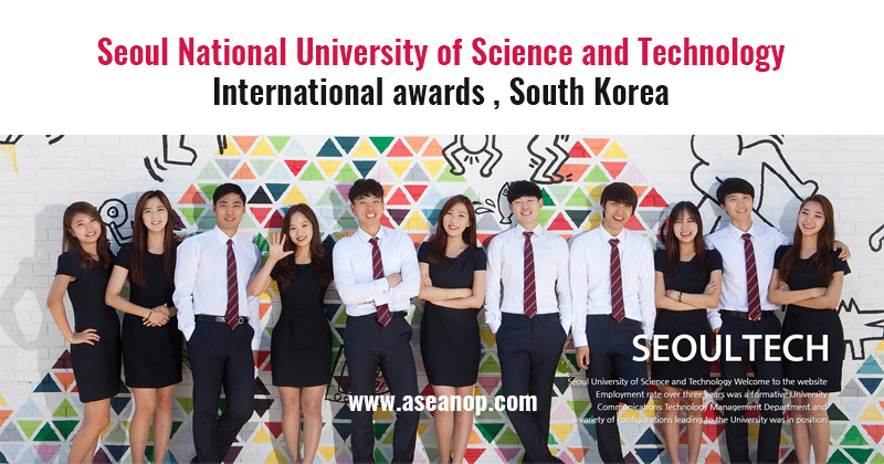 Scholarship to study at University of Science and Technology, South Korea