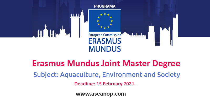 Erasmus Mundus Joint Master Degree in Aquaculture, Environment, and Society in the UK