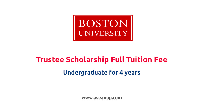 Trustee Scholarships for International Students at Boston ...
