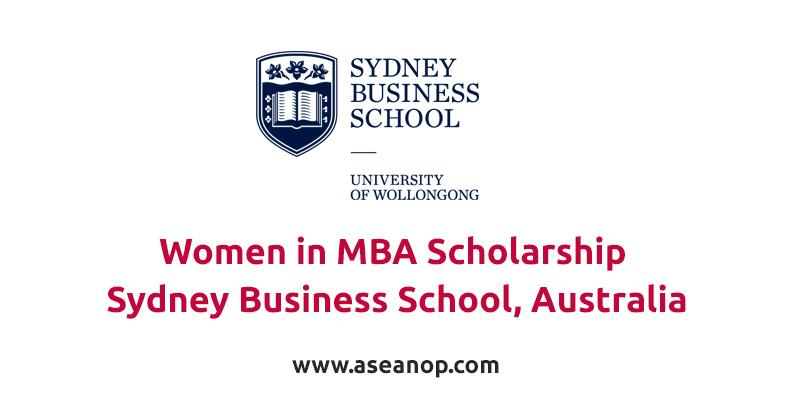 Women in MBA Scholarship at Sydney Business School, Australia