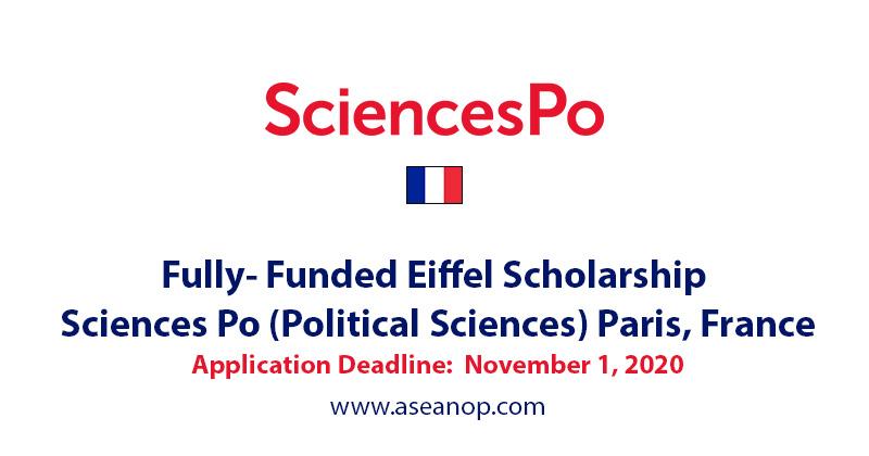 Eiffel Scholarship at Sciences Po Paris