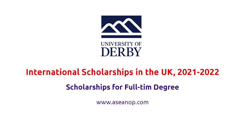 University of Derby international awards in the UK, 2021