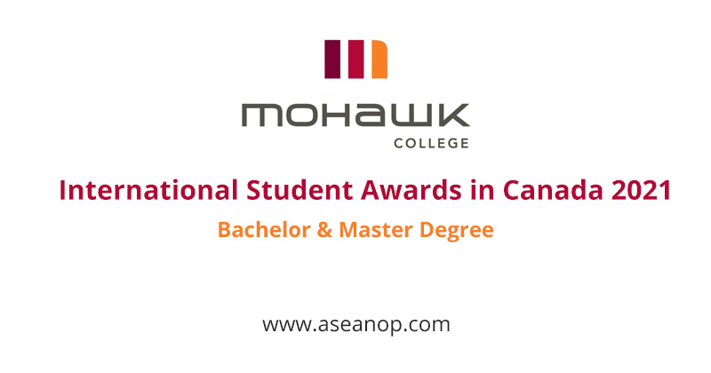 Full-time International Student Awards at Mohawk College, Canada 2021