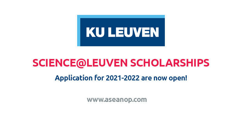 Leuven Scholarships for Masters at K.U.Leuven University in Belgium, 2021