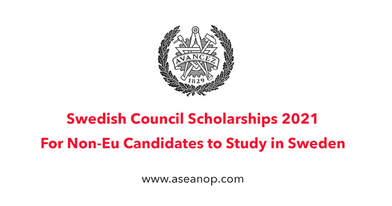 Swedish Council for Higher Education Avancez Scholarships in Sweden, 2021