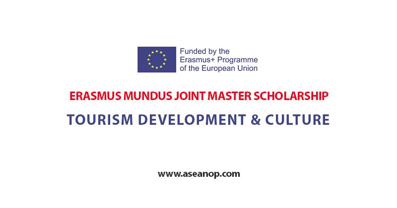 TOURISM DEVELOPMENT & CULTURE (ERASMUS MUNDUS JOINT MASTER) SCHOLARSHIP