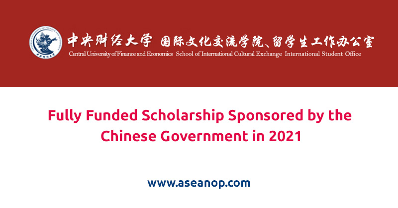 Fully Funded Scholarship Sponsored by the Chinese Government in 2021