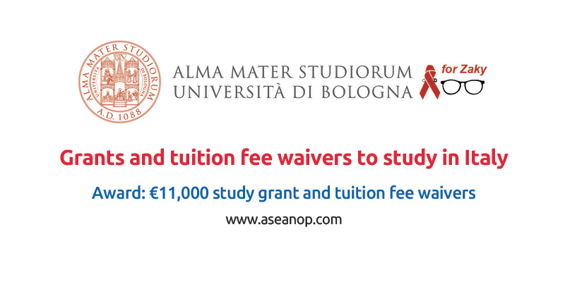 Grants and tuition fee waivers for international students to study in Italy
