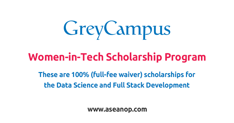 GreyCampus Women-in-Tech Scholarship Program