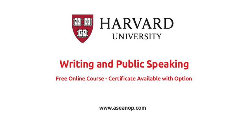 Harvard University Writing and Public Speaking