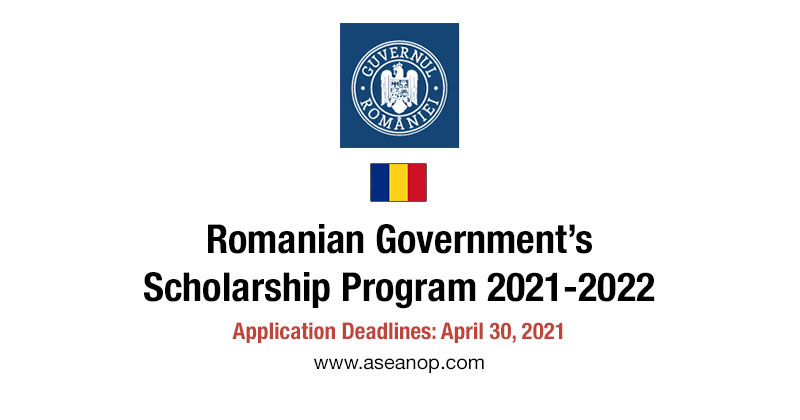 Romanian Scholarship Foreign citizens from all non-EU countries 2021